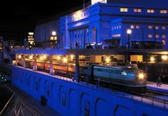 Twin Cities Model Railroad Museum - Night Trains and model trains