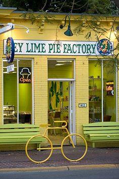 Key Lime Pie Factory | Key West, FL - Best key lime Ice Cream and pie. Add to bucket list.