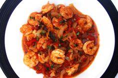 Shrimp Fra Diavolo (adapted from Giada De Laurentiis)