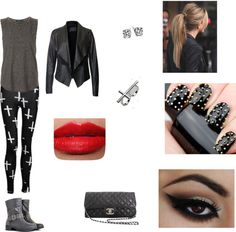 """Classy Rebel."" by bellanna on Polyvore"
