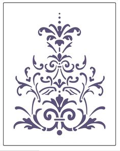 Amazon.com: Faux Like a Pro Victorian Lace Stencil, 5.5 by 7-Inch, Single Overlay