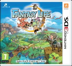 Fantasy Life (Nintendo 3DS) is so ridiculously amazing