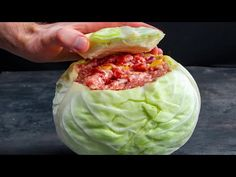 Carne Picada, Polish Recipes, Evening Meals, Relleno, Soul Food, Food Videos, Main Dishes, Cabbage, Mango