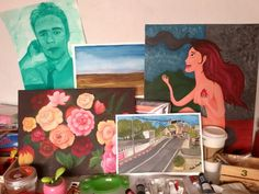 Gouache, Acrylic, Watercolor #almostcomplete #painting #life #art #artist #artistic