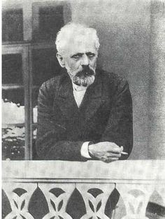 Tchaikovsky (1840-1893), one of his late pictures.