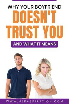 It's always difficult to deal with a romantic partner who doesn't trust you. If you find that your boyfriend can't really express why he can't trust you, here's what it could mean. Click to read more.