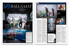 European Newspaper Award  Sunnuntaisuomalainen kävi viinanhakureissulla Tallinnassa. Rallaajat-juttu julkaistiin 6.10.2013. Teksti: Tero Karjalainen, kuvat: Mikko Vähäniitty