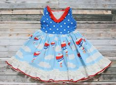 girl clothing, girl dress, baby dress, fourth of july dress, patriotic dress, 4th of july, 4th of july childrens dress