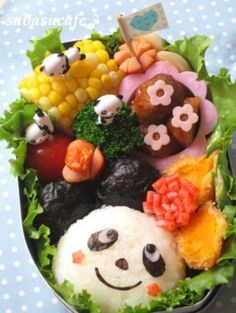 Pandas this may be a way to get Makenna to eat vegies!