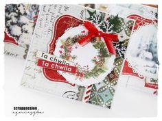 Kolejne kartki świąteczne z papierów UHK Gallery i Galerii Papieru Grafiki autorstwa Janet- Digital Paper