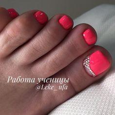 ⏩@leke_ufa #маникюр #дизайнногтей #nails #manicure #педикюр #безмасла #идеипедикюра #комбинированныйпедикюр #комбипедикюр #ухоженныеножки…