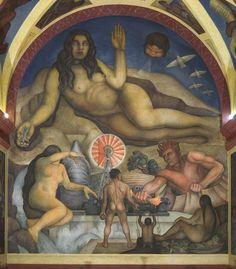 Diego Rivera. Escuela Nacional de Agricultura Chapingo