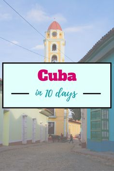 Travelling in Cuba by yourself is challenging. It is so much you need to plan before you go. This is a post on how I saw Cuba in 10 days.