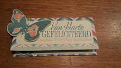 Geld enveloppe, stampin up, floral wings.