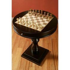 RST Espresso Artisan Chess Table