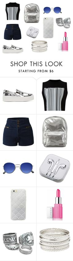 """silver set"" by evagelialove on Polyvore featuring Kenzo, Alexander Wang, LE3NO, Pantone, PhunkeeTree, Sonix, Clinique and Charlotte Russe"