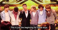 Boy band whisperer, Simon Cowell, has some heartbreaking news for Directioners. | Simon Cowell Thinks One Direction Will Split Up After Two More Albums