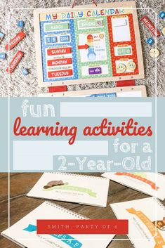 Fun Learning Activities for Your - Smith, Party of 6 Educational Activities For Preschoolers, Seasons Activities, Activities For 2 Year Olds, Toddler Learning Activities, Learning Resources, Fun Learning, Activities For Kids, Homeschool Preschool Curriculum, Homeschooling