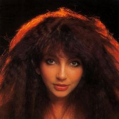 Kate Bush - muse; this picture was on my bedroom wall as a teenager...