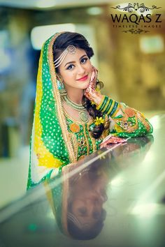 Photography by waqas z, mehndi bride