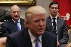 Inside #Trump #WHITEHOUSE, #NEWYORK moderates spark infighting and suspicion...