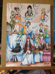 The girls of amour sucre by fusah1 on DeviantArt