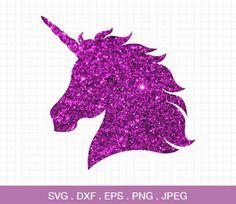 Unicornio cabeza svg svg de cuerno de unicornio, unicornio svg, unicornio cumpleaños svg, archivos de Cricut, silueta, unicornio cortar archivo