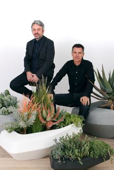 Architects Greg Truen and Stefan Antoni of SAOTA share a distinctive design vision that has shaped their partnership of 20 years. Based on a clear language of function meeting form and in the pursuit of true architectural design their large practise is in demand across the globe. SAOTA have completed buildings in a staggering 86 countries. Container Plants, Container Gardening, Plant Containers, Architecture Design, Planters, Design Inspiration, 20 Years, Landscape, Outdoor
