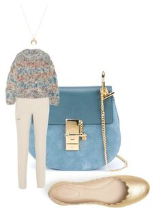 """""""Chloe"""" by kohlanndesigns ❤ liked on Polyvore featuring Chloé, fashionset, PolyvoreInsider and chloe"""