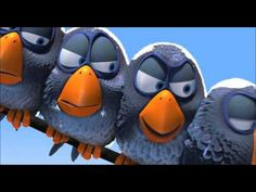"""Yay for Pixar! - Yay for Pixar! pixar short """"for the birds"""" Disney Pixar, Walt Disney, Disney Birds, Disney Music, For The Birds Pixar, Pixar Shorts, Album Jeunesse, Drawing Conclusions, School Videos"""