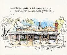 urban sketchers texas: Sketching around Austin
