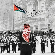 Jordan Flag, Jordan Ones, Palestine History, Palestine Art, Iphone Wallpaper Nasa, Best Iphone Wallpapers, Jordan Country, Jordan Royal Family, Arabic Tattoo Quotes