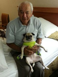 P tator and her Grandpa on vacation Vacation, Dogs, Animals, Vacations, Animales, Animaux, Pet Dogs, Doggies, Animal