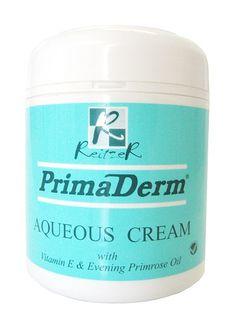 PRIMADERM SCENTED AQUEOUS CREAM 450ML Primrose Oil, Vitamin E, Coconut Oil, Jar, Personal Care, Cream, Creme Caramel, Self Care, Personal Hygiene