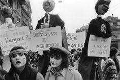 Fribourg, 4 mars 1978 Manifestation nationale pour la journée des femmes © Helga Leigundbut