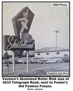 Skateland in 1960. Now Santino's restaurant.