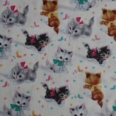 Mooie stoffen van MooiMam: Michael Miller - Kittens