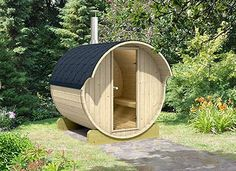 DIY sauna can be a lot of fun. Like any project, do it yourself sauna is one thing to increase quality of living and lifestyle Outdoor Sauna, Outdoor Decor, Mermaid Tile, Barrel Sauna, Sauna Heater, Birth Flowers, Tiny House Design, Tasting Room, Concrete Floors