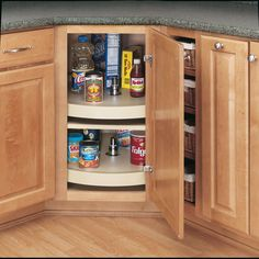 Rev-A-Shelf 6621-20-11-52 / 20 in White Polymer Full Circle Lazy Susan– Wholesale Home Kitchen Pantry Storage, Kitchen Organization, Organization Ideas, Kitchen Organizers, Cabinet Storage, Cabinet Organizers, Storage Ideas, Organized Kitchen, Small Pantry