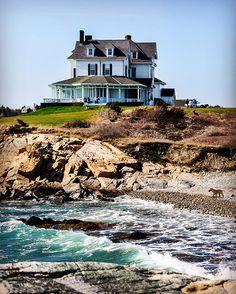 Coastal Newport #wraparoundporch