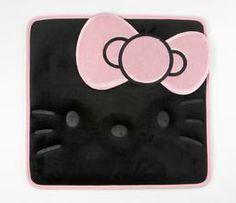 Hello Kitty Car Seat Cushion: Black