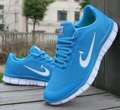 Nike Shoes Blue Color