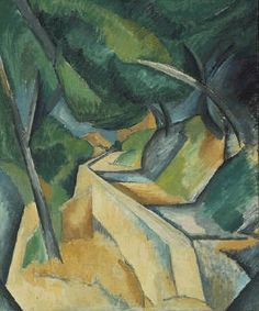 Georges Braque - Road Near L'Estaque