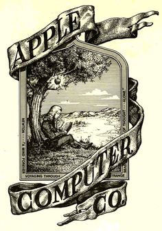 Ronald Wayne. Apple's 1st logo. (1976) Discuss graphic design - why was the logo changed almost immediately?