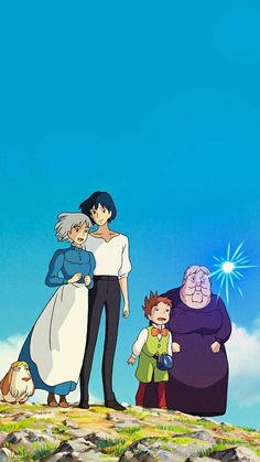 Howl's Moving Castle, day 1/30 anime challenge; this is the first anime ive ever watched, started at 3 and still going :D