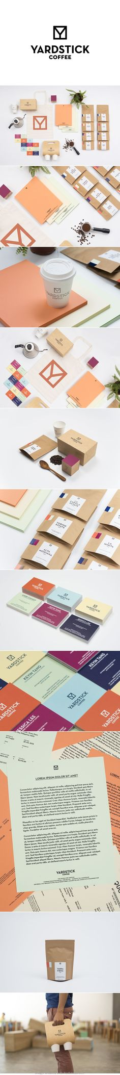 Yardstick Coffee time for coffee #identity #packaging #branding PD