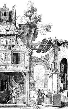 Albrecht Durer Printable - The Nativity
