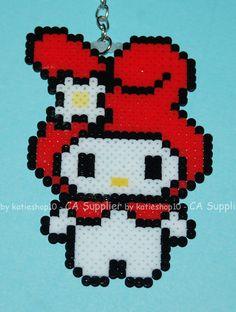 2W x 4H Sanrio My Melody Figure Phone Charm / by katieshop10, $5.99