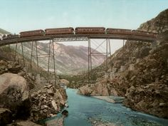 12 Forgotten Hand-Colored Images of Life in the 1800s | Clear Creek Canyon, Georgetown Loop, Colorado  Marc Walter/Courtesy TASCHEN  | WIRED.com