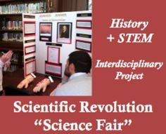 """Students explore the intersections between STEM and history in this interdisciplinary research project and fun simulation - an educator's dream! Students research famous Scientific Revolution figures and create actual """"science fair"""" projects presenting their most influential experiments and discoveries using the Scientific Method. Make it an annual event at your school and ask science teachers and administrators to judge and award the prizes - students and faculty alike love this experience!"""